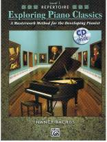 Exploring Piano Classics - Repertoire, Level 1 - A Masterwork Method for the Developing Pianist