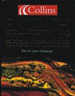 Collins English Dictionary - Complete and unabridged