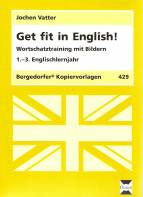 Get fit in English - Wortschatztraining mit Bildern