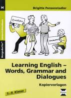 Learning English - Words, Grammar and Dialogues - Kopiervorlagen