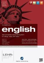 Komplettkurs English - 1 DVD-ROM m. 1 CD-ROM, 4 Audio-CDs u. 3 Textbücher