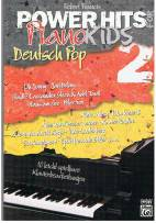 Power Hits for Piano Kids Deutsch Pop 2 - 10 leicht spielbare Klavierbearbeitungen