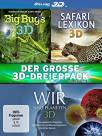 Der gro�e 3D-Dreierpack - Collection 2 - - Big Bugs 3D / Wir sind Planeten 3D / Safari Lexikon 3D  -