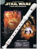 Selections from Star Wars for Recorder -