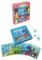 Jumbo  - Smart Games - Aqua Belle Logikspiel -