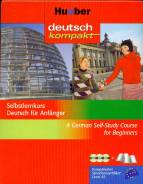 Hueber deutsch kompakt Selbstlernkurs Deutsch für Anfänger - - A German Self-Study Course for Beginners