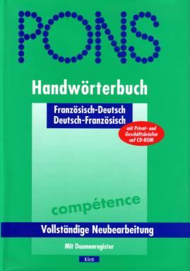 Pons Handwörterbuch Französisch Französisch Deutsch Deutsch