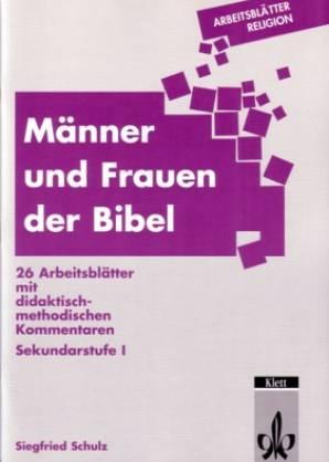 Männer Und Frauen Der Bibel 26 Arbeitsblätter Mit