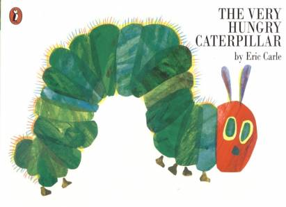 The Very Hungry Caterpillar Leseheft