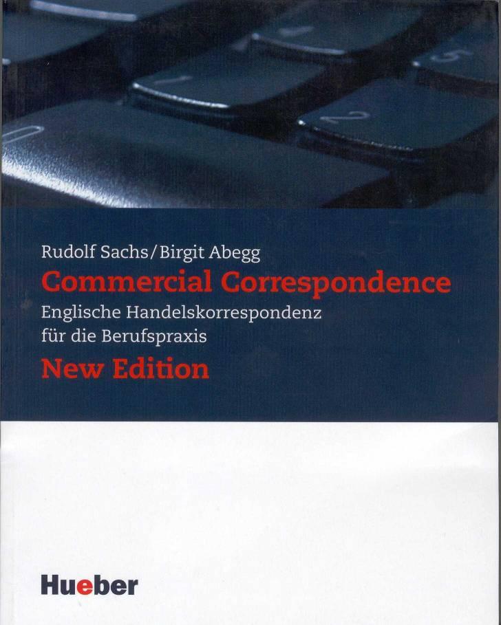 Handelskorrespondenz Musterbriefe : Commercial correspondence englische handeslkorrespondenz