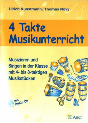 4 Takte Musikunterricht mit Audio-CD