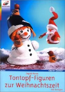 basteln tontopf figuren, tontopf-figuren zur weihnachtszeit - mit vorlagen - creativ compact, Design ideen