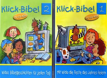 Klick Bibel Band 1 Und 2 Pc Cd Rom Mit Wido Die Feste Des Jahres