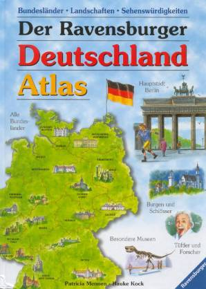 der ravensburger deutschland atlas f r kinder. Black Bedroom Furniture Sets. Home Design Ideas