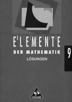 Schroedel elemente der mathematik 9 lösungen
