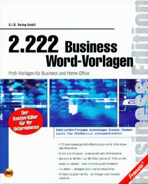 2222 Business Word-Vorlagen - Profi-Vorlagen für Business und Home ...