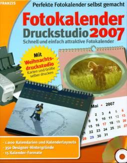 franzis fotokalender druckstudio: