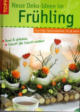 Neue Deko Ideen Im Fruhling Aus Holz Naturmaterial Filz Mehr