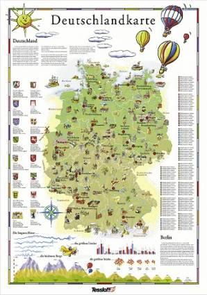 Karte Sehenswürdigkeiten Deutschland | mismis
