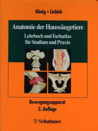 Anatomie der Haussäugetiere - Bd 1: Bewegungsapparat - Lehrbuch und ...