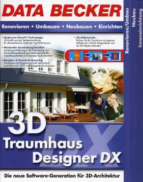 3d traumhaus designer dx die neue software generation f r 3d architektur renovieren. Black Bedroom Furniture Sets. Home Design Ideas