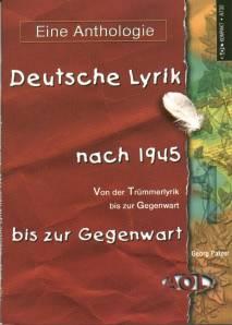 Deutsche Lyrik Nach 1945 Bis Zur Gegenwart Von Der