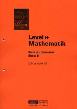 level mathematik 9 lehrermaterial sachsen gymnasium klasse 9 level mathematik. Black Bedroom Furniture Sets. Home Design Ideas