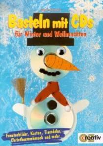 Basteln Mit Cds Fur Winter Und Weihnachten Fensterbilder Karten