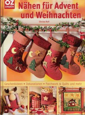 n hen f r advent und weihnachten geschenkideen dekorationen patchwork quilts. Black Bedroom Furniture Sets. Home Design Ideas