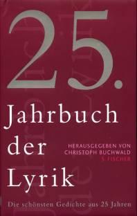 25 Jahrbuch Der Lyrik Die Schönsten Gedichte Aus 25