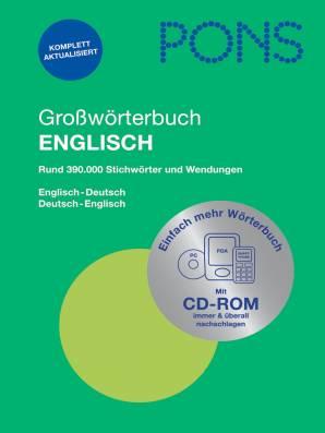 Großwörterbuch Englisch Neu Mit Elektronischem Wörterbuch Auf Cd