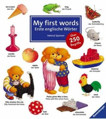 my first words erste englische w246rter 252ber 250 begriffe