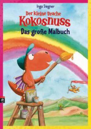 Der Kleine Drache Kokosnuss Das Große Malbuch Der Kleine Drache