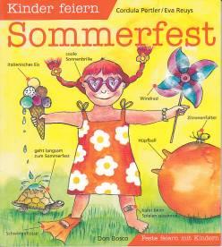 Kinder feiern sommerfest