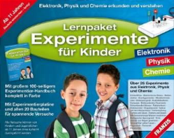 lernpaket experimente f r kinder elektronik physik chemie. Black Bedroom Furniture Sets. Home Design Ideas