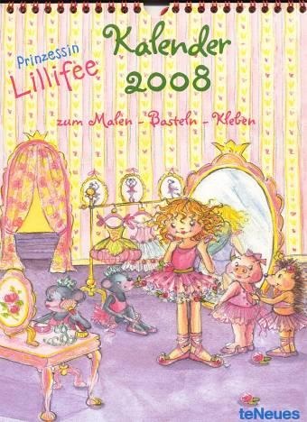 Prinzessin Lillifee Bastelkalender 2008 Zum Malen