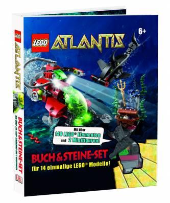 lego atlantis buch steine set f r 14 einmalige lego modelle mit ber 140 elementen und 2. Black Bedroom Furniture Sets. Home Design Ideas