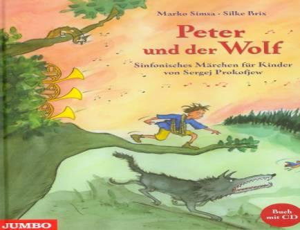 Peter Und Der Wolf Sinfonisches M 228 Rchen F 252 R Kinder Von border=