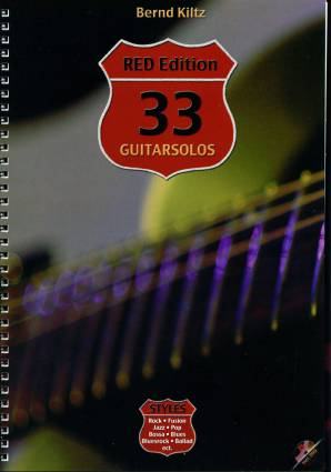 33 Guitarsolos RED Edition