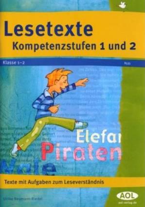 lesetexte kompetenzstufen 1 und 2 klasse 12 texte mit