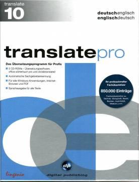 Translate pro englisch version 10 0 deutsch englisch englisch deutsch das for Deutsch englisch translator