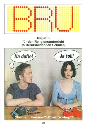 "BRU 39/2003 - Thema ""Konsum"": Born to shop?"