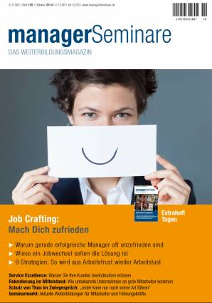 managerSeminare 199/2014 - Job Crafting:  Mach Dich zufrieden