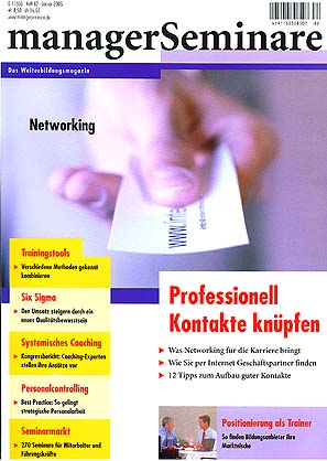 managerSeminare 82/2005 - Networking
